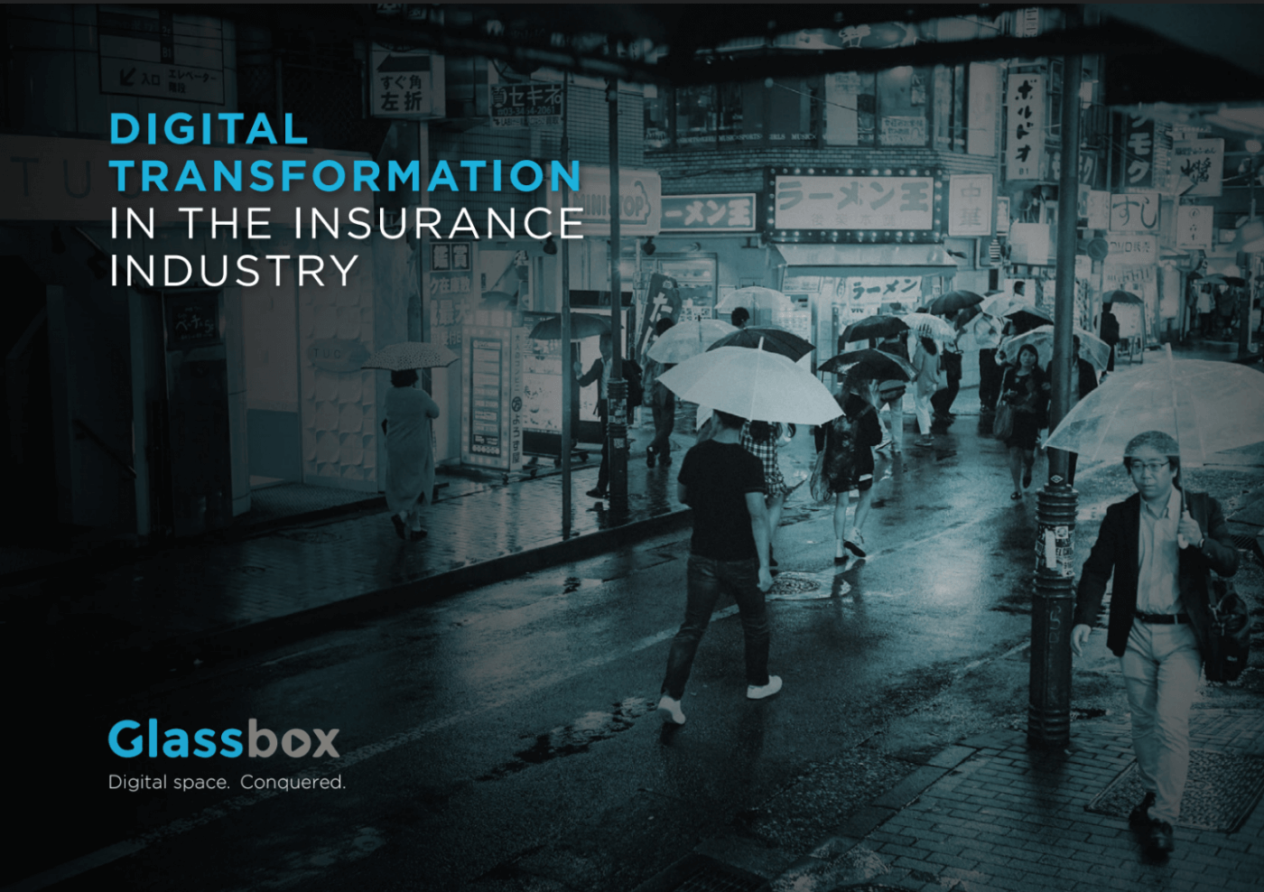Digital transformation <br />in the insurance <br />industry